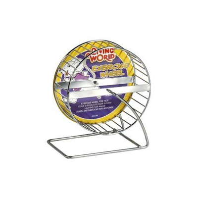 RC Hagen 61700 Living World Chrome Plated Mouse Wheel, 5 in. dia.