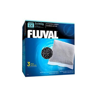 Fluval C4 Carbon 3 pk Filter Media