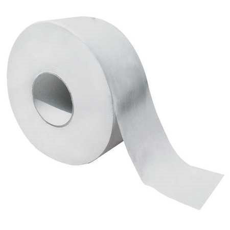 TOUGH GUY 36P067 Toilet Paper, Jumbo,2 Ply,9 In, PK8
