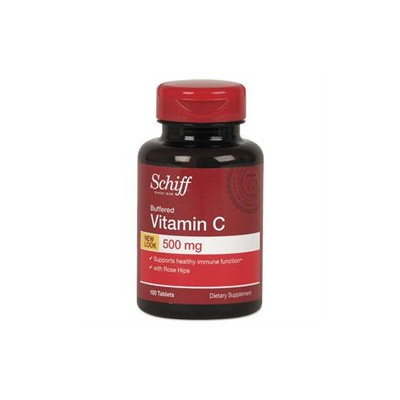 Schiff Vitamins Schiff Buffered Vitamin C 500mg with Rose Hips Tablets - 100 Count