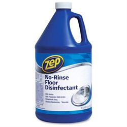 Zep Commercial No-Rinse Floor Disinfectant, 128 Oz.