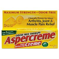 Aspercreme Pain-Relieving Creme, 1.25oz Tube