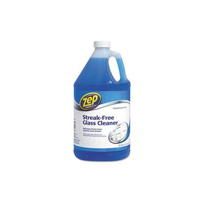 Zep Inc. Glass Cleaner, Streak-Free, Fast Drying, 1Gallon, Refill