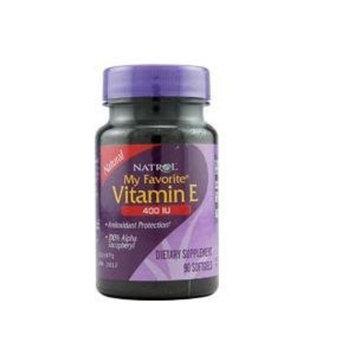Natrol My Favorite Vitamin E, 400 Iu, 90 Softgels
