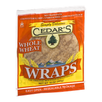 Cedar's Wraps Whole Wheat