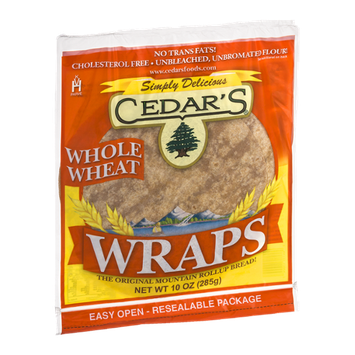 Cedar's Wraps Whole Wheat