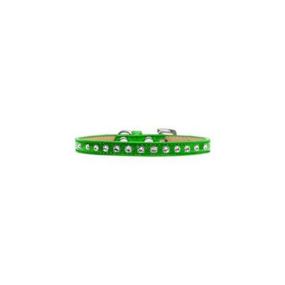 Mirage Pet Products 101-01 10LMG Crystal Ice Cream Collars Lime Green 10