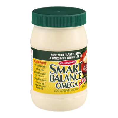 Smart Balance Omega Plus Light Mayonnaise Dressing