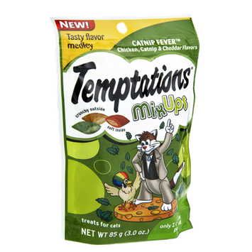 Temptations Mix Ups Chicken, Catnip & Cheddar Flavor Cat Treats