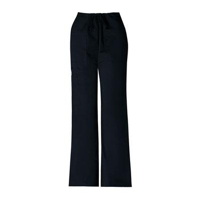 Simply Basic Black Stretch Drawstring Pant