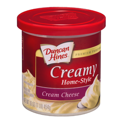 Duncan Hines Creamy Home-Style Cream Cheese Premium Frosting