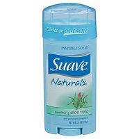 Suave Naturals Anti-Perspirant & Deodorant, Invisible Solid, Soothing Aloe Vera - 2.6oz.