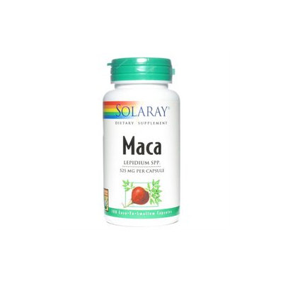 Solaray Maca 525 MG - 100 Capsules - Other Herbs