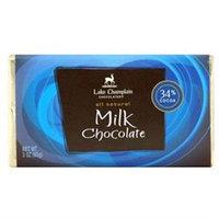 Lake Champlain Choc Choc Bar Mlk 34% Cocoa 3 OZ -Pack Of 12