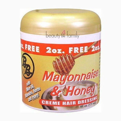 Bronner Brother's Mayonnaise & Honey Creme Hair Dressing