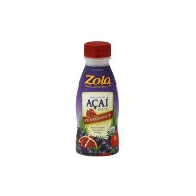 Zola Acai 06652 Zola Acai with Pomegranate Juice- 12x12 Oz