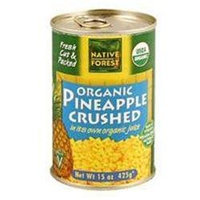NATIVE FOREST Organic Crushed Pineapple 14 OZ