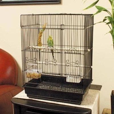 Petco Designer Square Top Parakeet Cage, 16.5