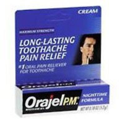Orajel PM Toothache Cream - 0.18 Oz