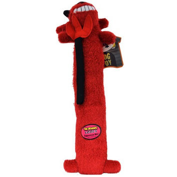 Multipet 784369477559 Loofa Halloween Dog - Devil 18 in.