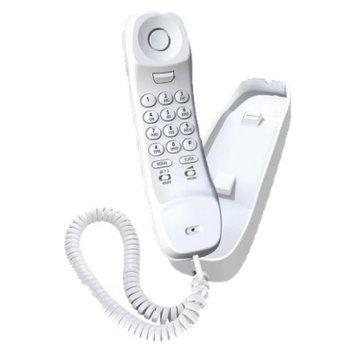 Uniden Slimline Basic Corded Phone (White) - 1100WH