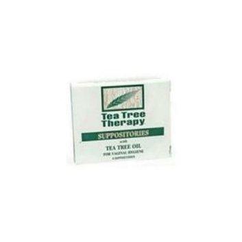 Tea Tree Therapy 74400  Tea Tree Suppositories -1x6 Pk