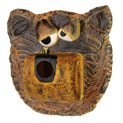 GSI Bee-Dazzled Bear Birdhouse (Discontinued by Manufacturer)