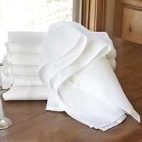 CHEFS Flour Sack Towels - Set of 6 - White
