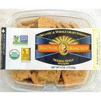Doctor Kracker Snackers, Seeded Spelt, 6-ounces (Pack of6)