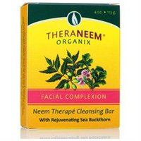Organix South TheraNeem Therape Cleansing Bar Facial Complexion - 4 oz