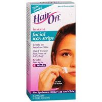 Hair Off Facial Wax Strips