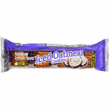 Great Value : Iced Oatmeal Cookies