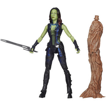 GUARDIANS OF THE GAL Marvel Guardians Of The Galaxy Platinum Series Gamora Figure 6