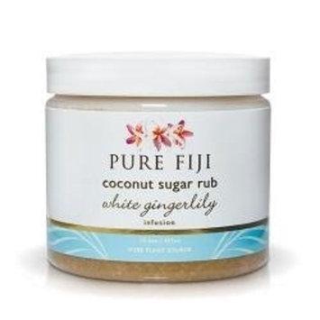 Pure Fiji Sugar Rub White Gingerlily, 15.5 Ounce