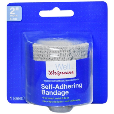 Walgreens Self Adhering Bandage, 2 inch, 1 ea