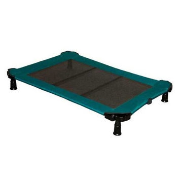 Pet Gear Portable Cot for cats and dogs up to 75-pounds, Moss Green