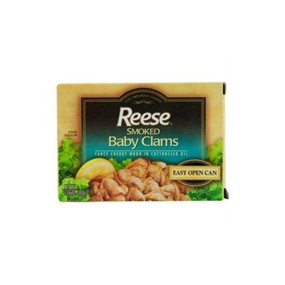 Reese Smoked Baby Clams - 3.66 oz