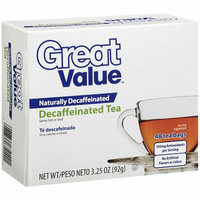 Great Value : Decaffeinated Tea