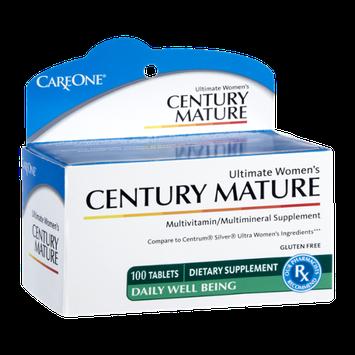 CareOne Century Mature Ultimate Women's Multivitamin/Multimineral Dietary Supplement - 100 CT