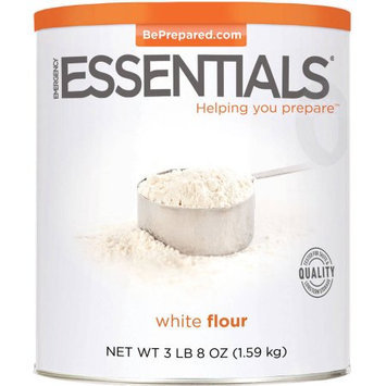 Emergency Essentials White Flour, 56 oz