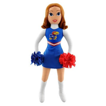 Bleacher Creatures University of Kansas Football Cheerleader Plush