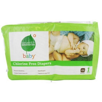 Seventh Generation 7th Generation 100496 B Diaper Stage 1 NP 44/4ct