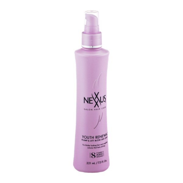 Nexxus Youth Renewal Pump & Lift Blow Dry Spray