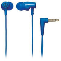 Audio-Technica ATH-CLR100 Clear In-Ear Headphones - Blue