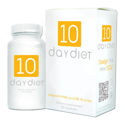 Creative BioScience 10 Day Diet Dietary Supplement Capsules