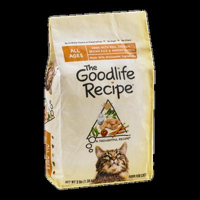 The Goodlife Recipe Cat Food Chicken, Brown Rice & Garden Greens