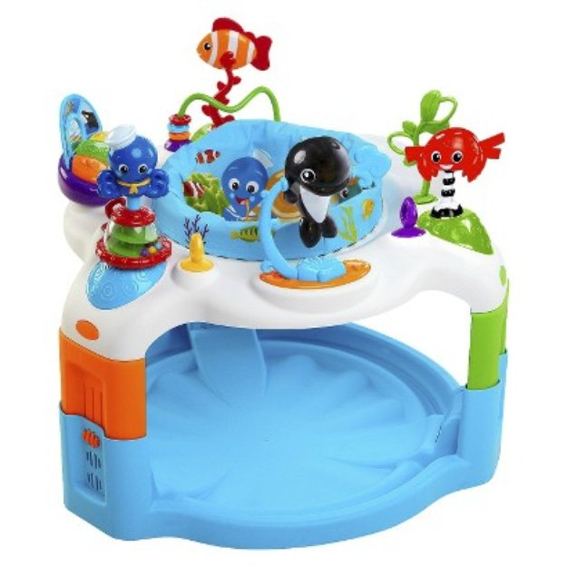 baby einstein rhythm of the reef activity saucer reviews. Black Bedroom Furniture Sets. Home Design Ideas