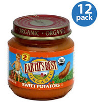 Earth's Best Sweet Potatoes Baby Food