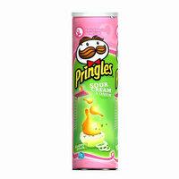 Pringles Super Stack Sour Cream & Onion Potato Crisps