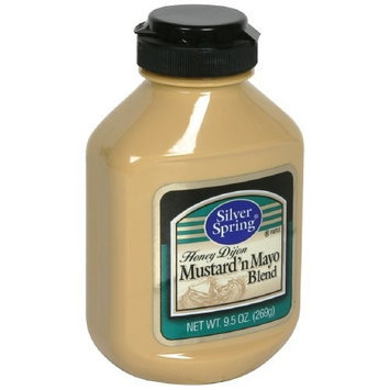 Silver Springs Mustard Mustard'n Mayo Blend, 9.5-Ounce (Pack of 9)
